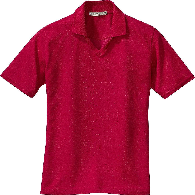 Ladies Rapid Dry Polo Red/_S L455 Port Authority Signature