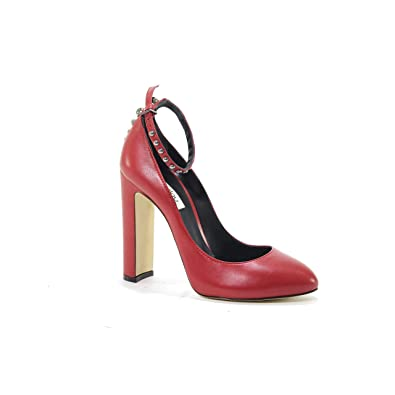 Court Shoes Shoes & Bags NINALILOU Womens 282501RED Red Leather Pumps