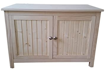 Double Odor Free Cat Litter Box Cabinet. Ideal For Multiple Cats. Holds Two  Cat