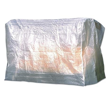 Dandler 562177 Housse de Protection pour balancelle de Jardin 3 Places -  Transparent - 36 x 24 x 9 cm