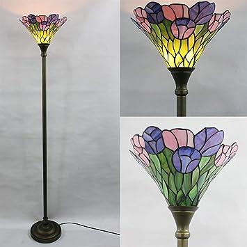 Floral Antique Colores Vidrieras Gweat 14 Lujo Pulgadas Bead De wOkXPuZTi