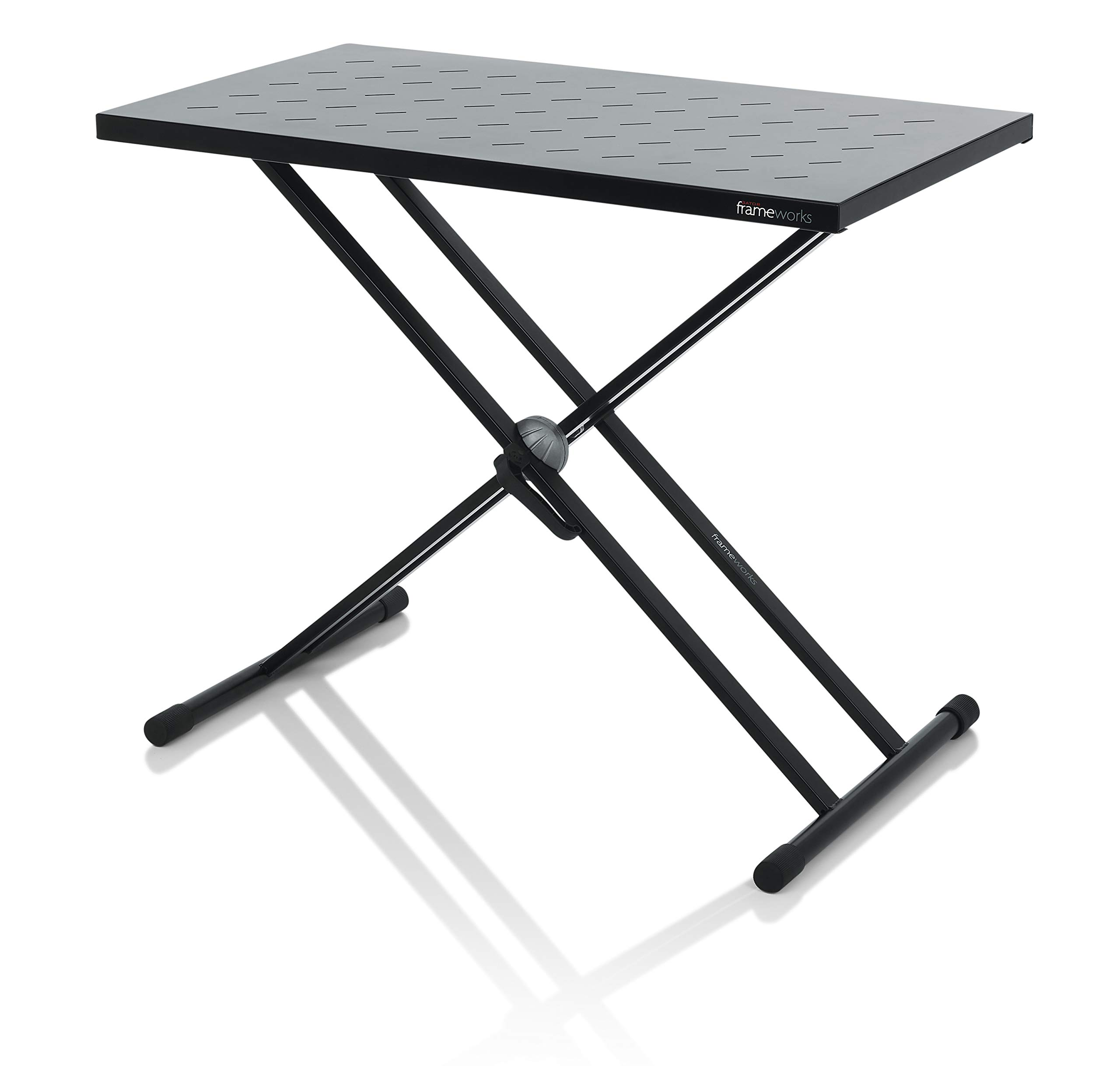 Gator Frameworks Utility Table Top and X Style Keyboard Stand Set; 32'' x 18'' Surface (GFW-UTL-XSTDTBLTOPSET)