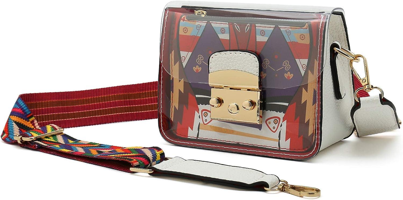 Transparent Crossbody Bag...