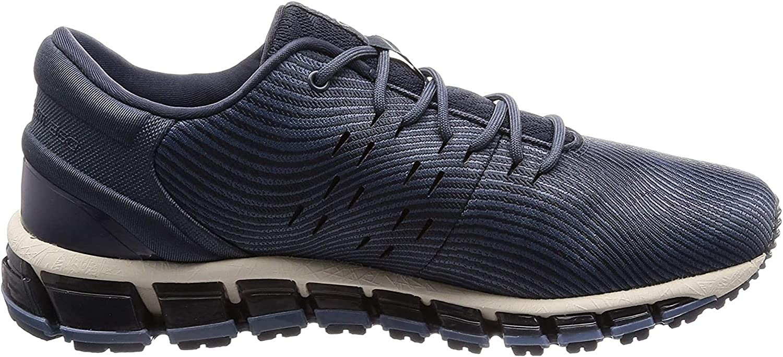 Asics Gel-Quantum 360 4, Walking Shoe Unisex-Adult, Tarmac/Steel Blue: Amazon.es: Zapatos y complementos