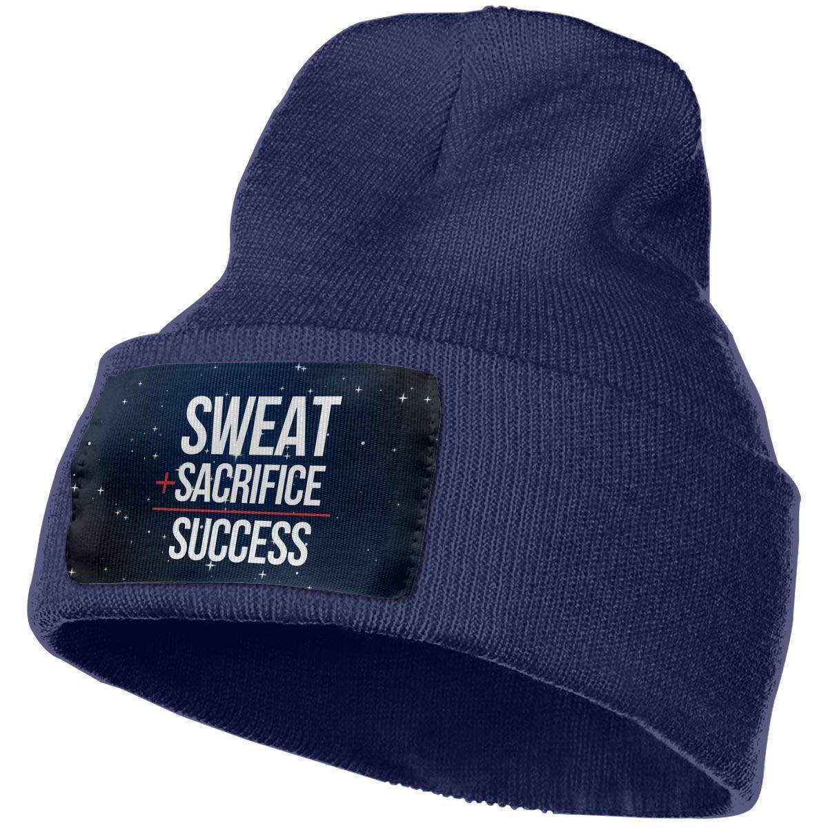 Helidoud Sweat Sacrifice Succes Winter Beanie Hat Knit Hat Cap for for Men /& Women