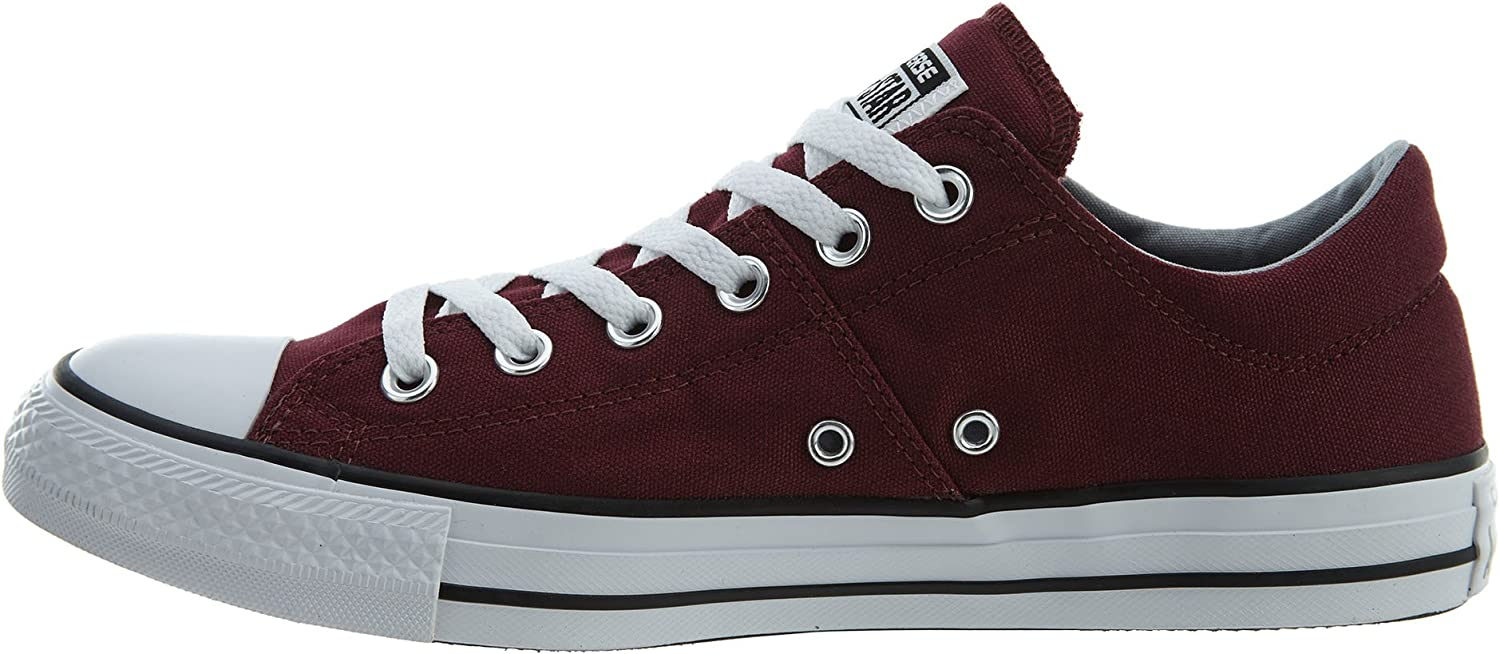 Converse Women's Chuck Taylor All Star Madison Low Top Sneaker Burgundy White