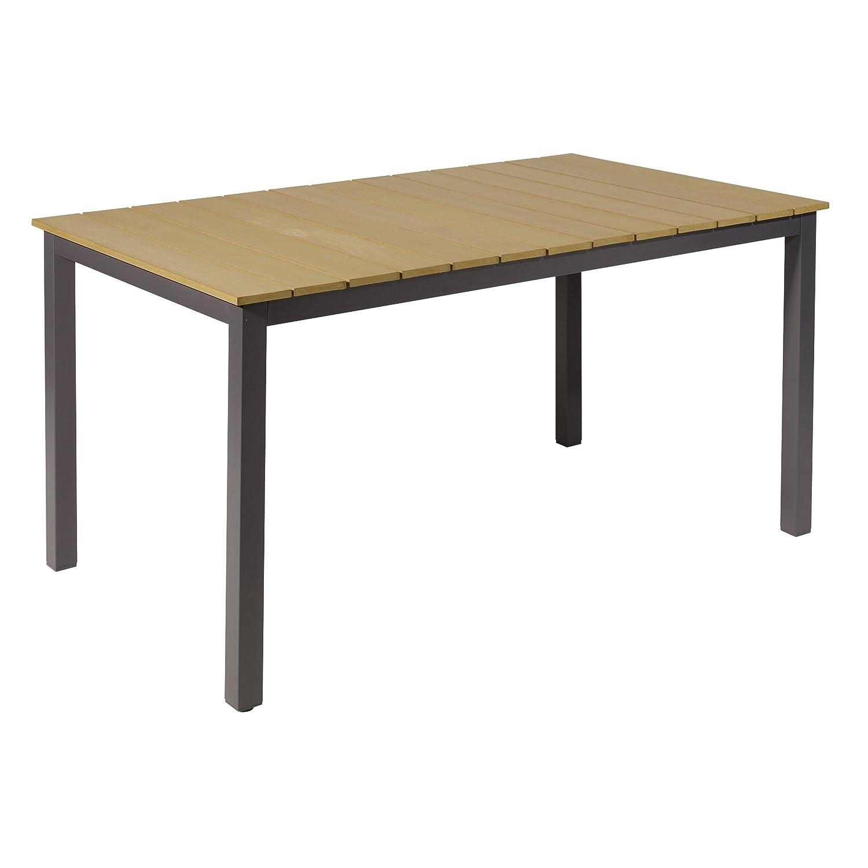 Greemotion Tisch groß Genua, Mehrfarbig, ca. 150 x 90 Höhe: ca. 74 cm