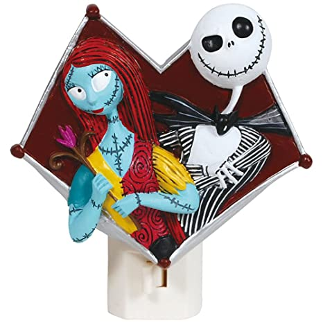 Tim Burton Nightmare Before Christmas Jack And Sally Heart Nightlight - Amazon.com: Tim Burton Nightmare Before Christmas Jack And Sally
