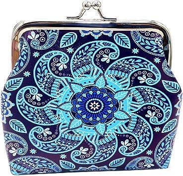 Beautiful Women Girl Coin Purse Portable Mini Wallet Purse Zip Coin Money Bag UK