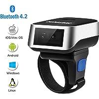 Escáner Inalámbrico de Código de Barras Bluetooth, Trohestar