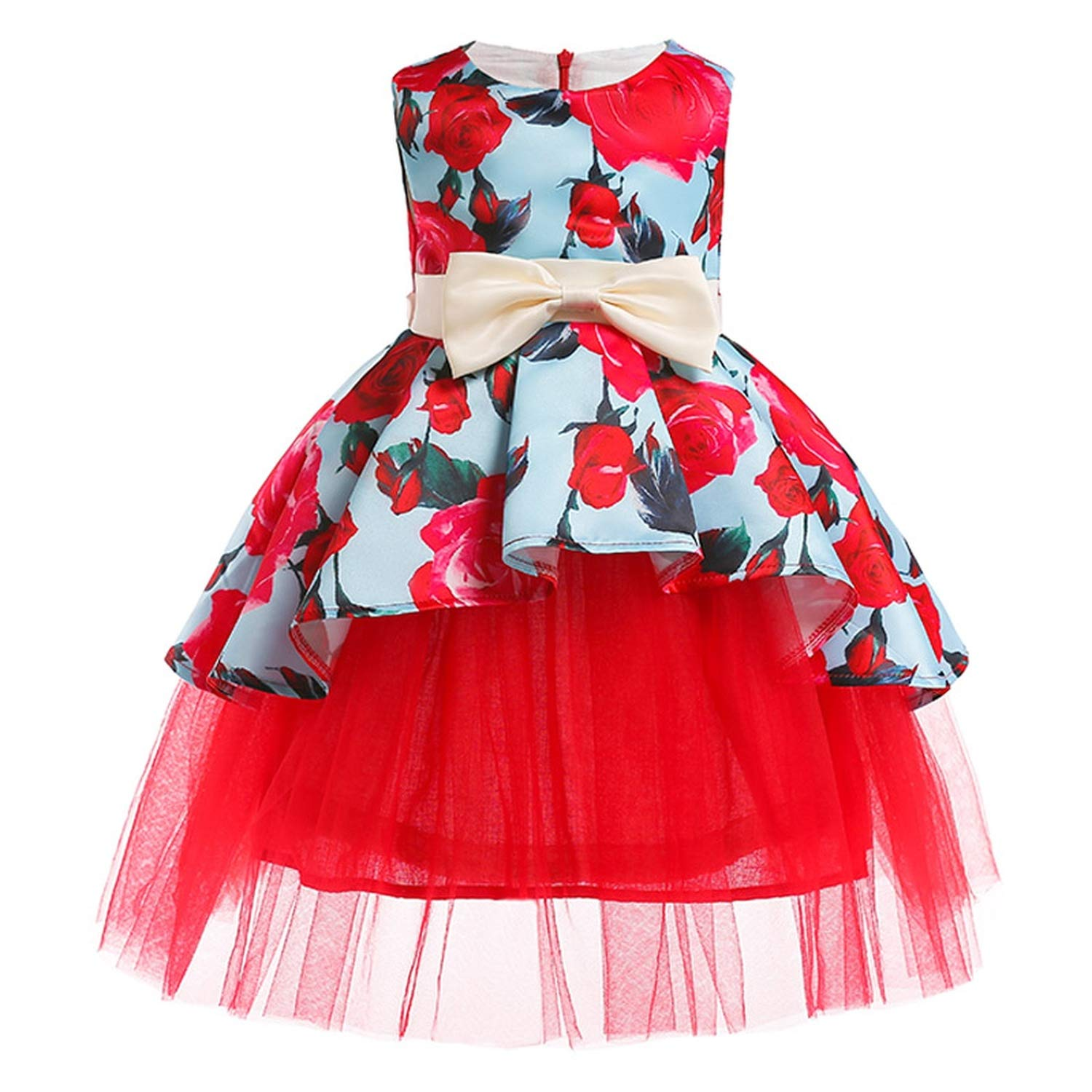 Girls Dress Summer Kids Dresses for Girl Princess Children Baby Tutu 2 3 4 5 6 7 8 9 10 Years,As Picture10,9 by Gooding Day (Image #3)
