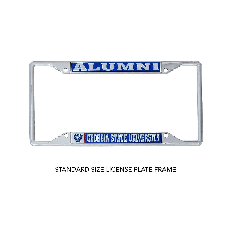Alumni Desert Cactus Georgia State University License Plate Frame for Front Back of Car Approved Manufacturer