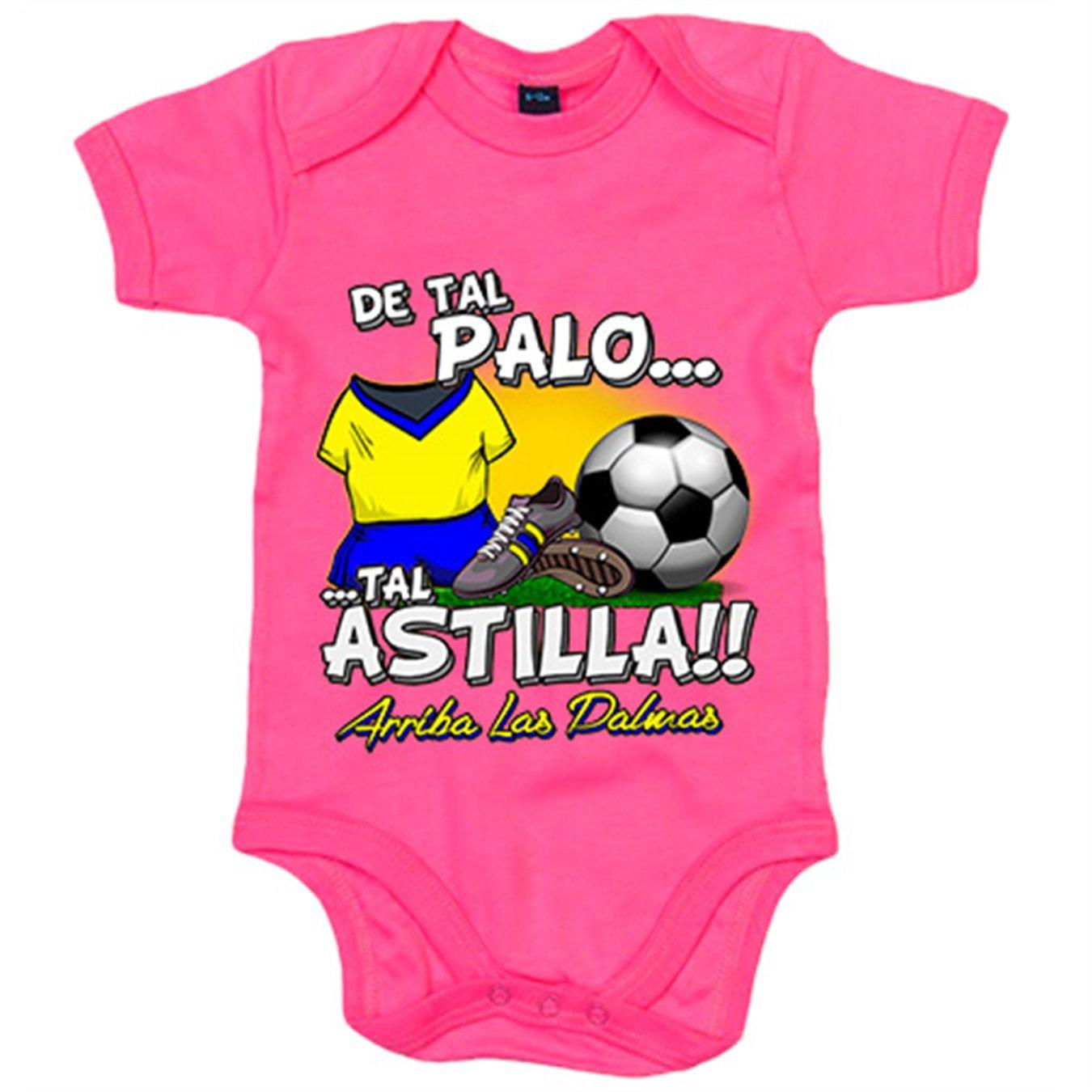 Body bebé De tal palo tal astilla Las Palmas fútbol - Amarillo, 6-12 meses: Amazon.es: Bebé