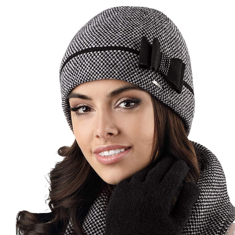 Kamea Cappello Femminile Invernale Bicolorato Bolonia