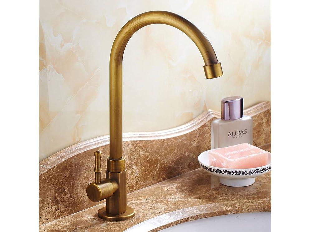 Rubinetto acqua fredda lavabo nostalgia retro 360 ° girevole