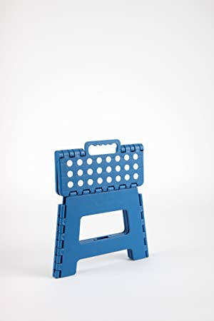 Sgabello pieghevole colore: Blu Arregui 25 x 20 x 21 cm