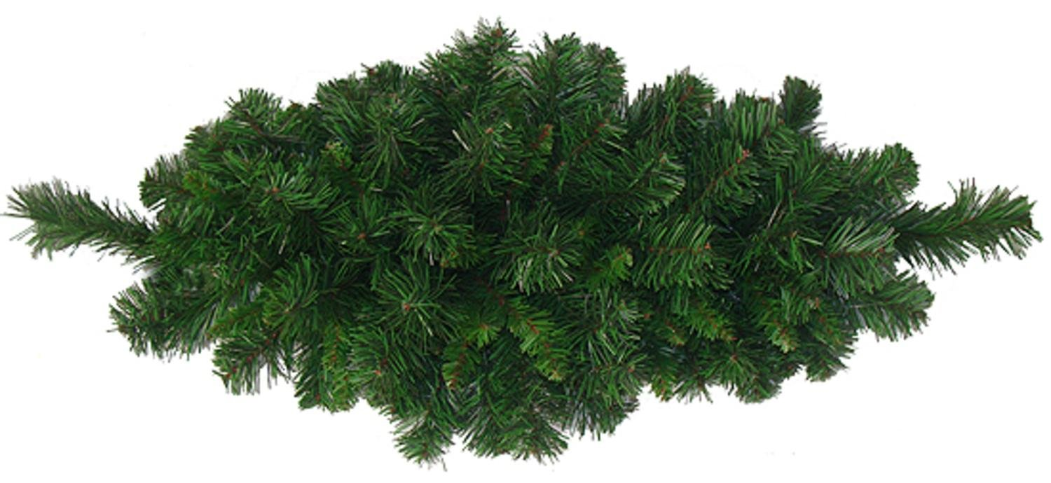 Darice 32'' Rich Mixed Pine Artificial Christmas Swag - Unlit