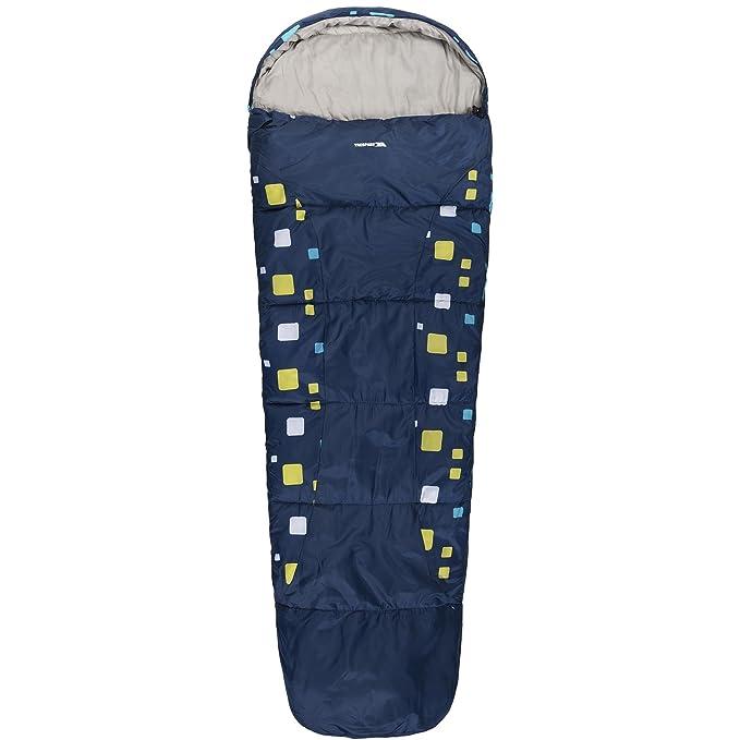Trespass - Saco de dormir Modelo Bunka para niños niñas - - Acampada / Camping (