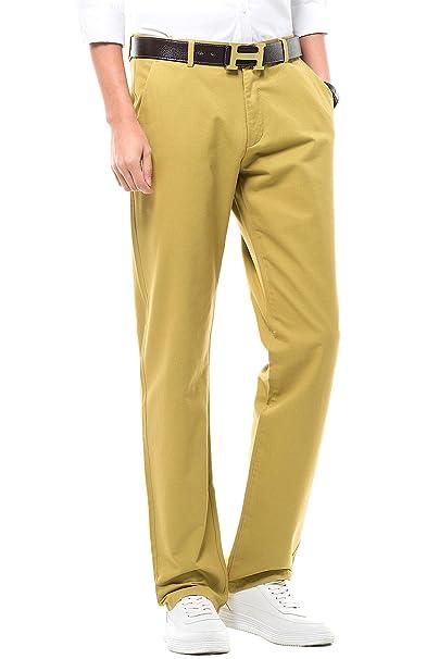 b2b92022e MIYA - Pantalones de Vestir para Hombre
