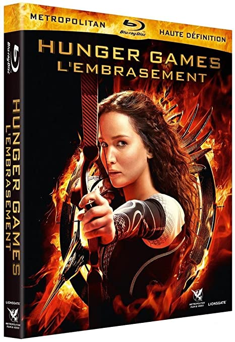 Hunger Games 2 L Embrasement Blu Ray Fr Import Dvd Blu Ray