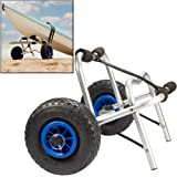 Kayak Cart - Universal Dolly for Kayaks and Canoes - Easy to Roll and Durable Carrier for All Outdoor Travel Needs