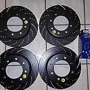 EBC Brakes S5KF1706 S5 Front Kits Yellowstuff and GD Rotors