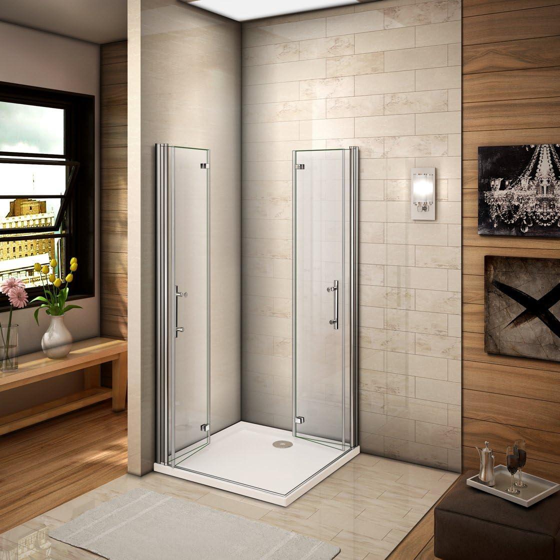100 X 70 X 185 cm cabinas de ducha esquina ducha Mampara drehfalt Puerta Puerta de ducha (HP10 – 2 + HP70 – 2): Amazon.es: Bricolaje y herramientas