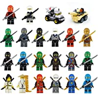 Deals on Maykid 20 Ninja Minifigures with Accessoies 2 Tanks