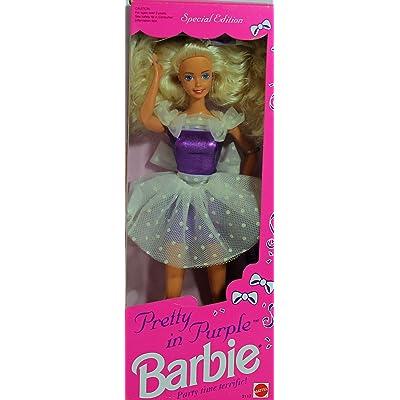 Mattel 1992 Pretty in Purple Barbie - Special Edition: Toys & Games
