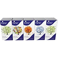 FINE Four Season Pocket Facial Tissues - 10 Packs, 10 Sheets x 3 ply