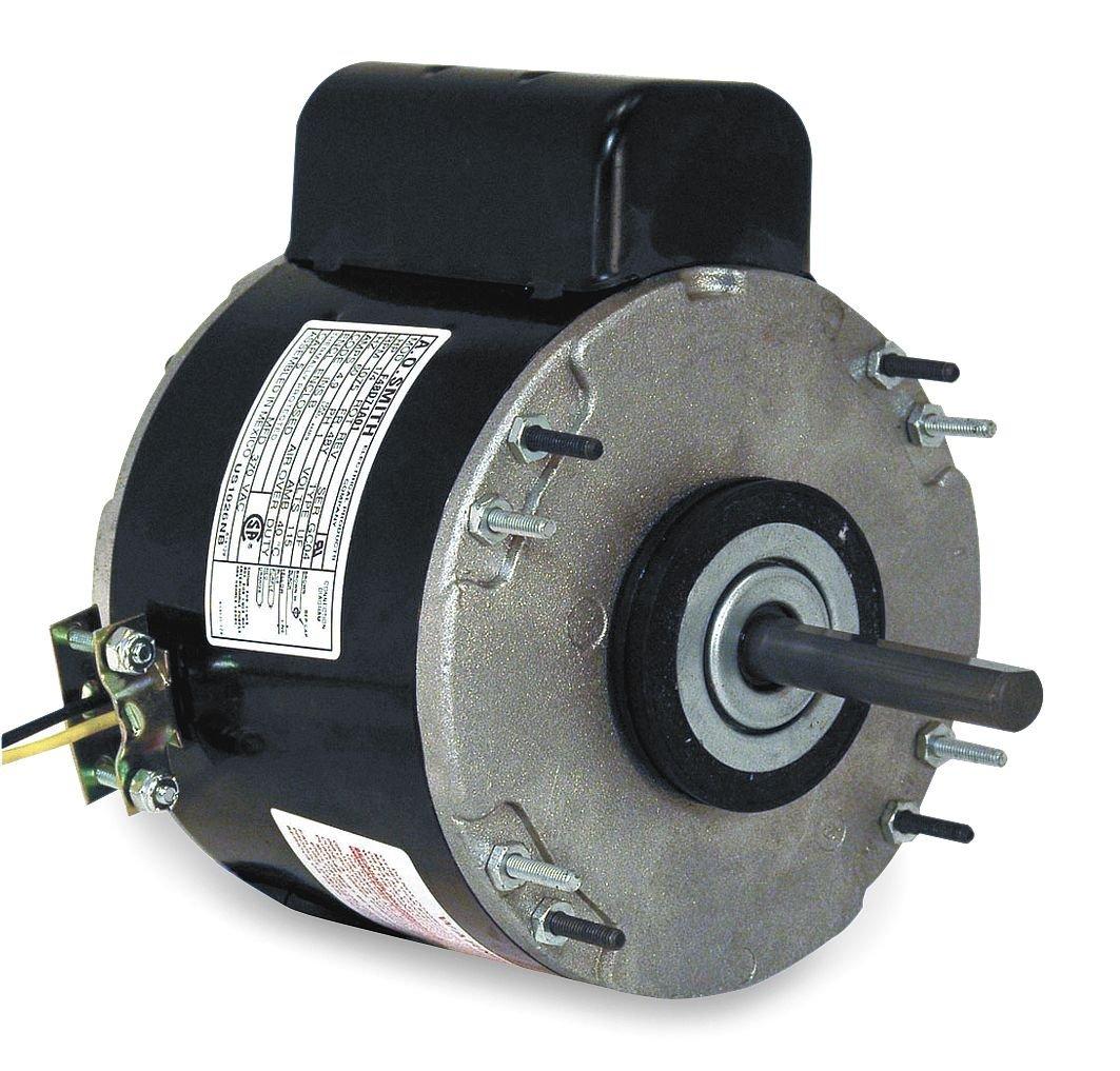Unit Heater Motor, 1/4 HP, 1075, 115 V, 48Y