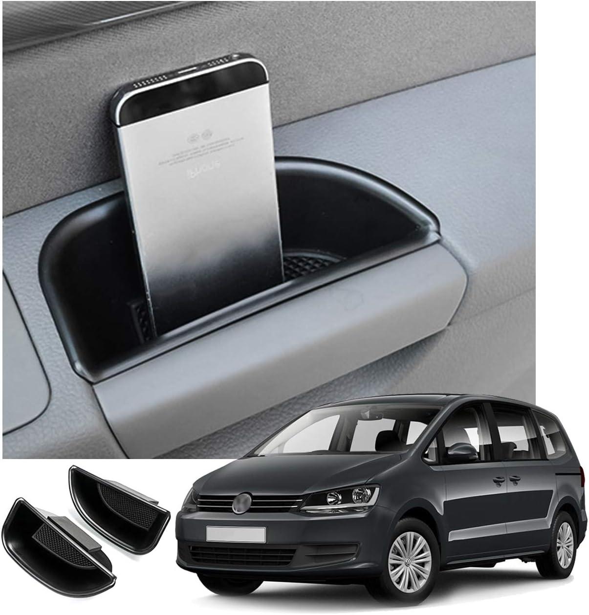 2 Stück Cdefg Für V W Sharan Seat Alhambra Auto Aufbewahrungsbox Autotür Innenrahmen Box Abdeckungen Innenraum Zubehör Storage Box Auto