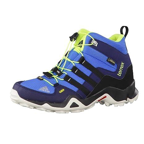 adidas Performance Bambini Scarpe da Trekking, Ragazzo, B22814, Super Blue/Solar YEL