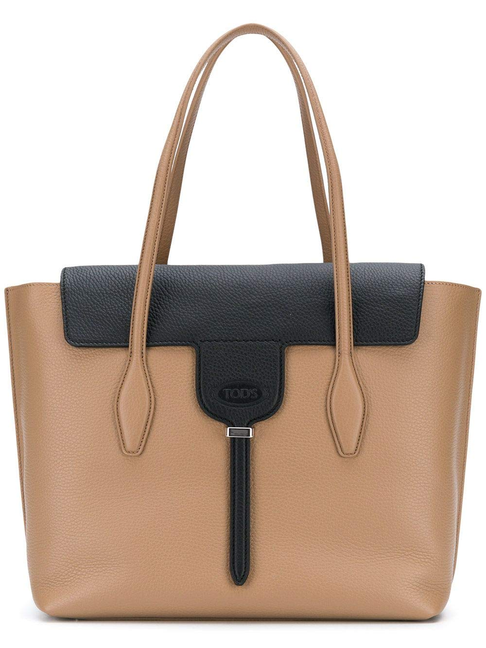 Tods Womens Xbwanxa0300rib582a Beige Leather Tote