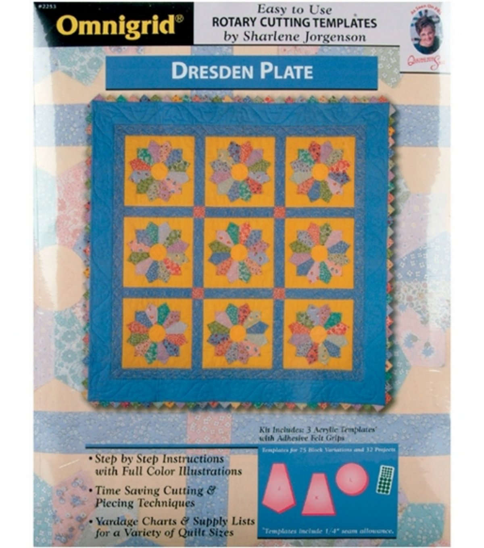 Amazon Omnigridr Template Dresden Plate