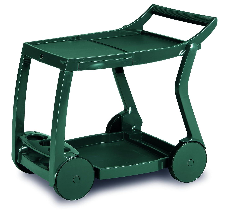 BEST 18480030 Servierwagen Galileo, grün: Amazon.de: Garten
