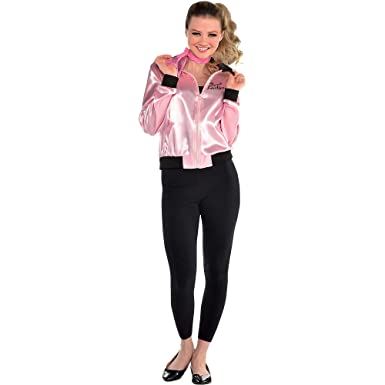 Suit Yourself Pink Ladies Jacket for Women, Grease Costumes, Plus Size  (Dress Size 14,16)