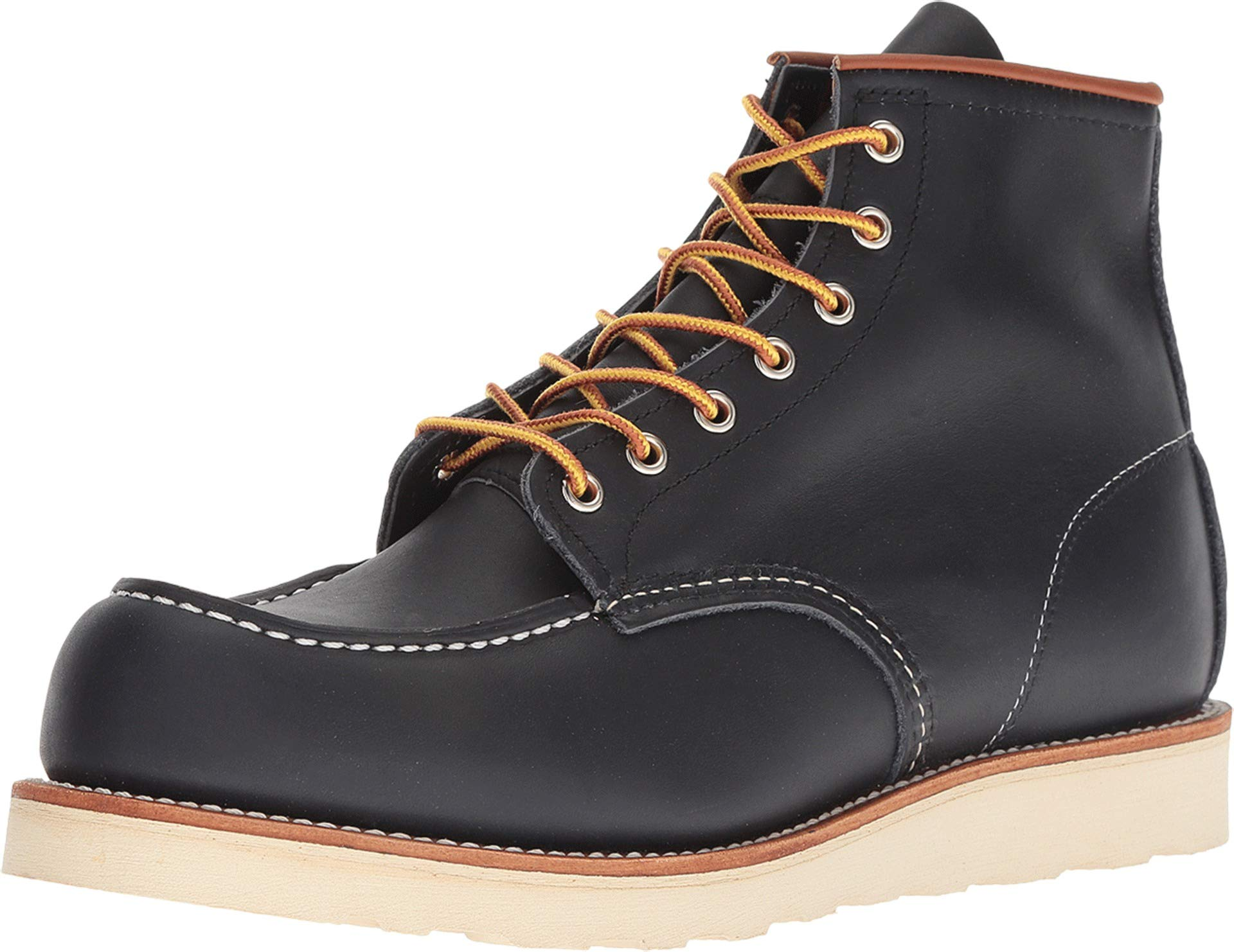 """Red Wing 8859: Men's 6"""" Moc Toe Navy Portage Boots"""