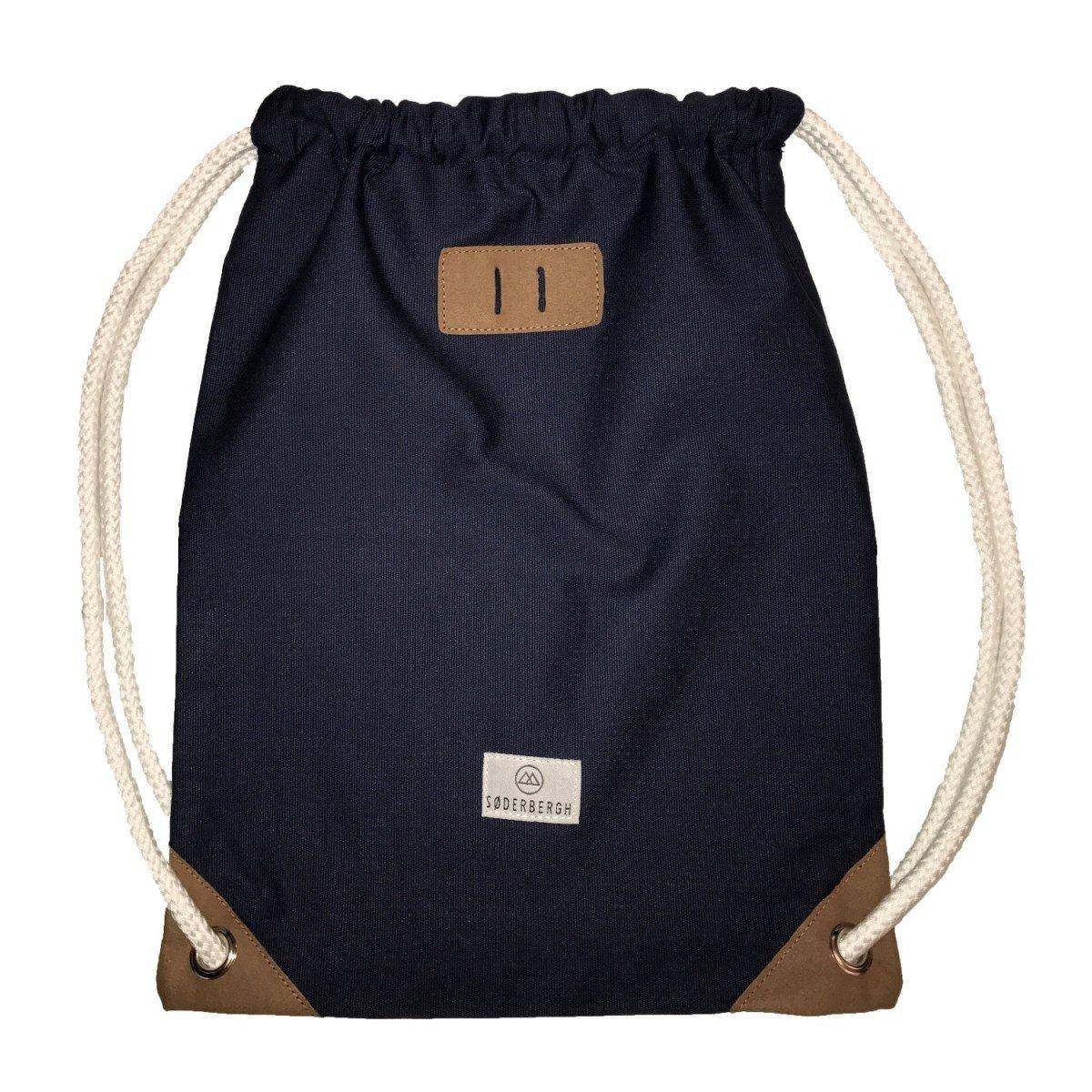SODERBERGH Sacs de sport Sac à dos sac en toile Hipster Unisexe Femme Homme Enfant, Farbe:Blue