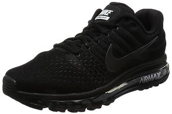 NIKE Men's Air Max 2017 Black/Black/Black Running Shoe 9 Men US