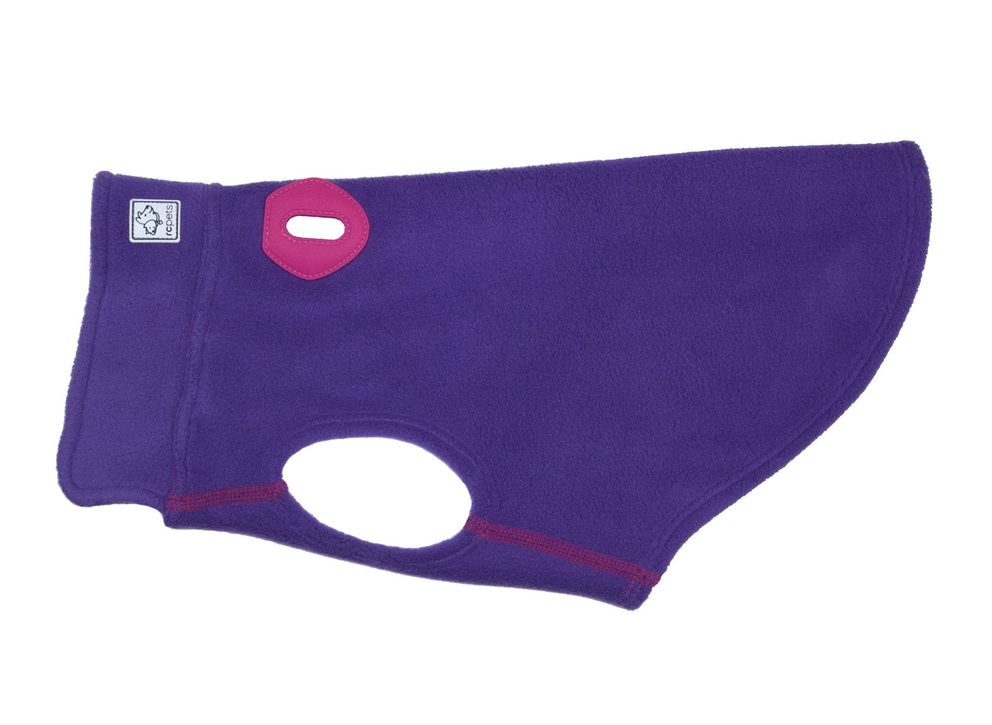 RC Pet Products Baseline Dog Fleece, Dog Coat, Size 12, Purple/Pink
