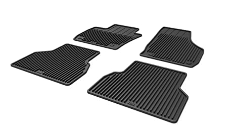 heavy duty all weather floor mats for audi q3 13 14 15 16 set of