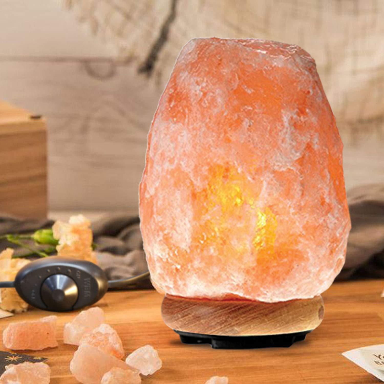 Himalayan Glow 1002 Pink Crystal Salt Lamp Salt Lamp (8-11 lbs) Salt Lamp (8-11 lbs) by Himalayan Glow (Image #9)