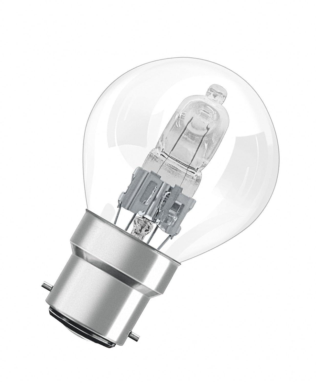 Osram Blister Verre 46 W B22d Transparent Lot de 2 LEDVANCE 4052899195622