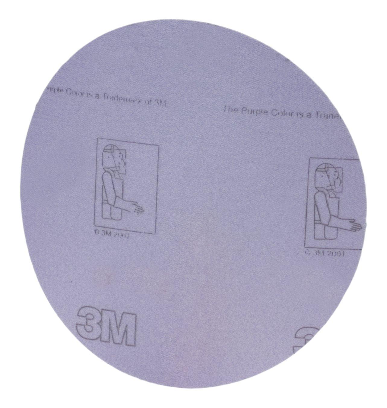 30051115196325 Pack of 100 5 in x NH 5 Holes P500 3M Hookit Film D//F Disc 360L 100 per inner 500 per case
