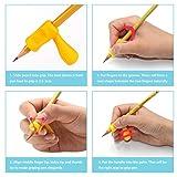 Pencil Grips,Firesara Silicone Ergonomic Writing