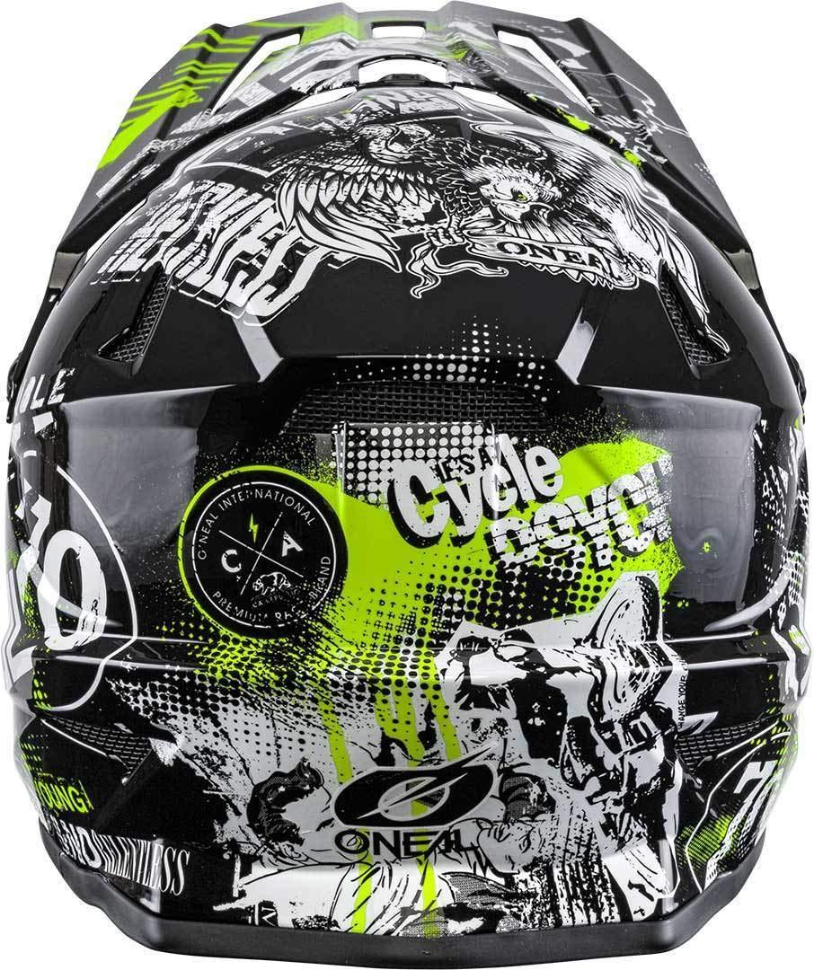 ONeal Backflip Attack DH Fahrrad Helm schwarz//gelb 2020 Oneal