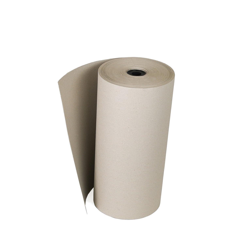 3 Rollen Schrenzpapier mit 50 cm Breit 200 lfm ca 10 KG 100 g/m² Ideales Packpapier KKVerpackungen