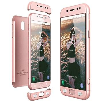 6593244e063 CE-Link Funda Samsung Galaxy J5 2017, Carcasa Fundas para Samsung Galaxy J5  2017, 3 en 1 Desmontable Ultra-Delgado Anti-Arañazos Case Protectora:  Amazon.es: ...