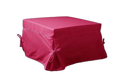 Ponti Divani Puff cama plegable, cama otomana, colchón incluido! Tapicería de tela.